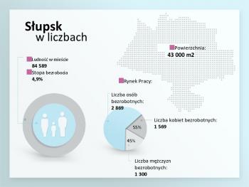 grafika - dane statystyczne dot. m.in zatrudnienia