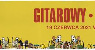 Plakat wydarzenia gitarowy Rekord Świata 19 czerwca 2021 Wrocław Pergola + Online