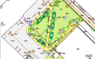 projekt zagospodarowania terenu przy SP1
