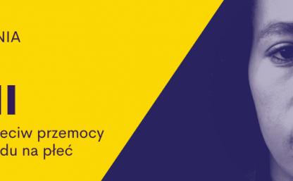 Bane ze strony http://kampania16dni.pl/, baner akcji Kampania 16 dni akcji przeciw przemocy se względu na płeć, po prawej zdjęcie kobiet i data 25.11-10.12.2020