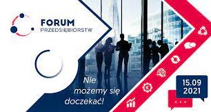 Plakat Forum Przedsiębiorstw