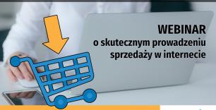 banner akcji Domu Staryupów - Webinar o skutecznym prowadzeniu sprzedaży w internecie