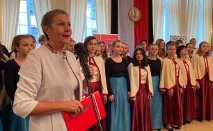 Przemówienie Prezydentki Krystyny Danileckiej-Wojewódzkiej podczas uroczystości DEN