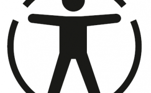 Ikona człowieka wpisana w koło